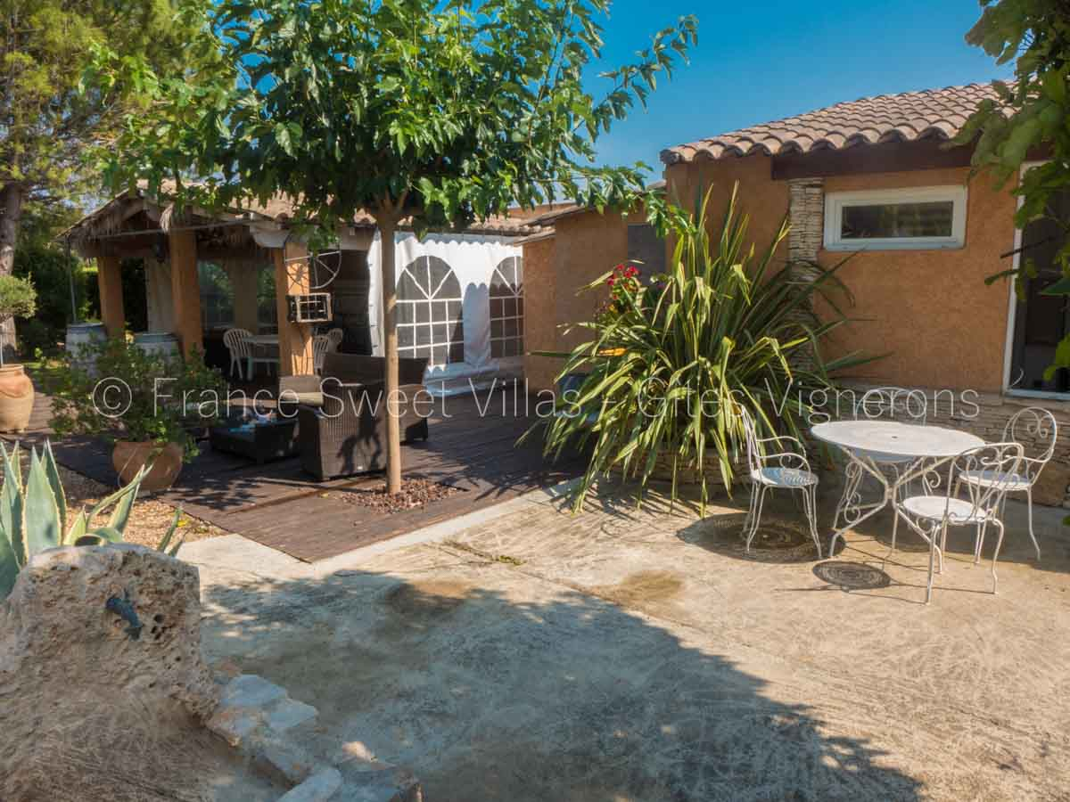 location maisons villas sud France AN07 Villa AREMILLE