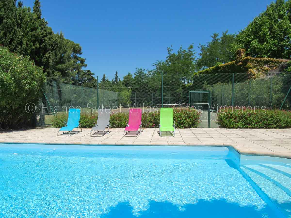 location-gites-piscine-vignoble AC26 Maison AFRIOLINE